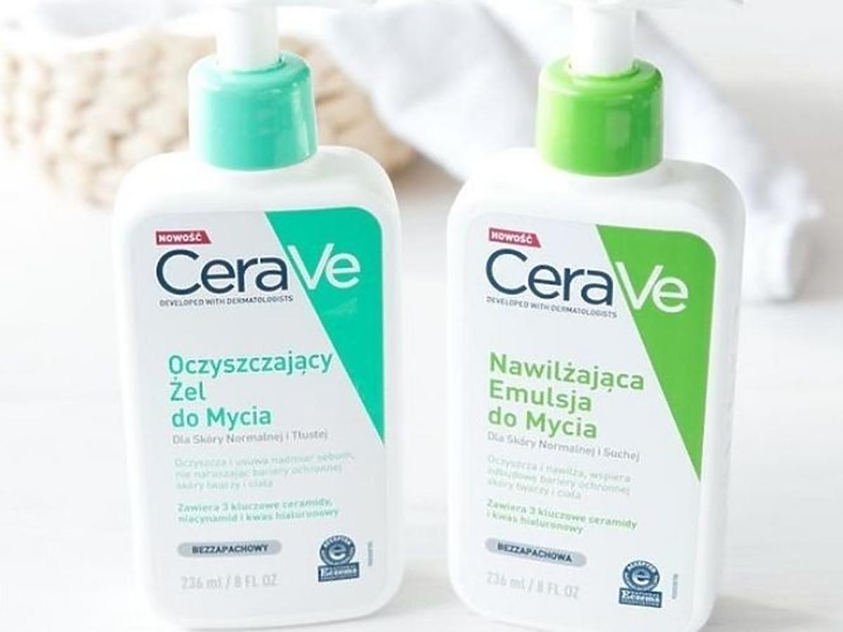 CeraVe oczyszczająca emulsja do mycia twarzy