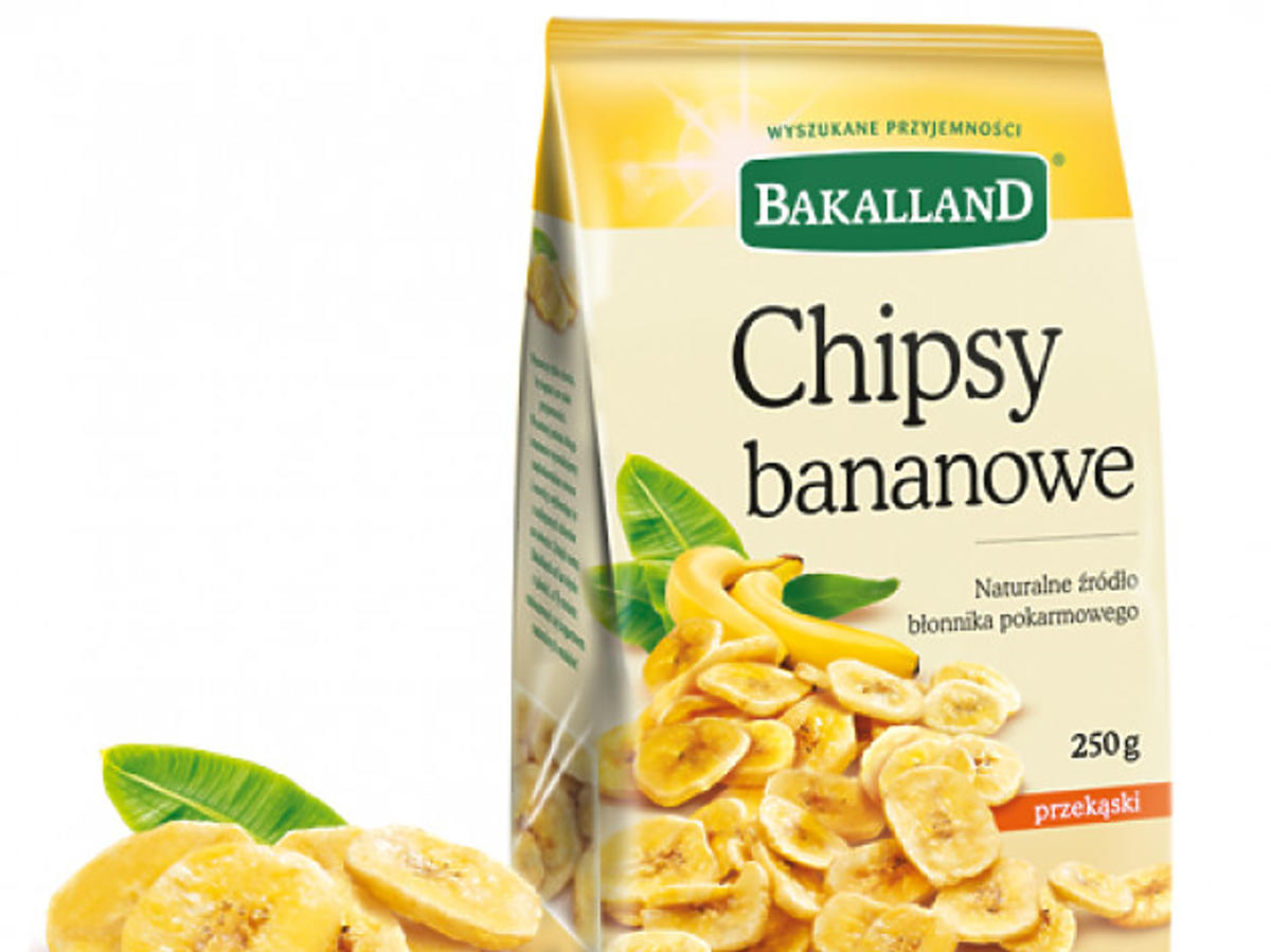 chipsy bananowe bakalland