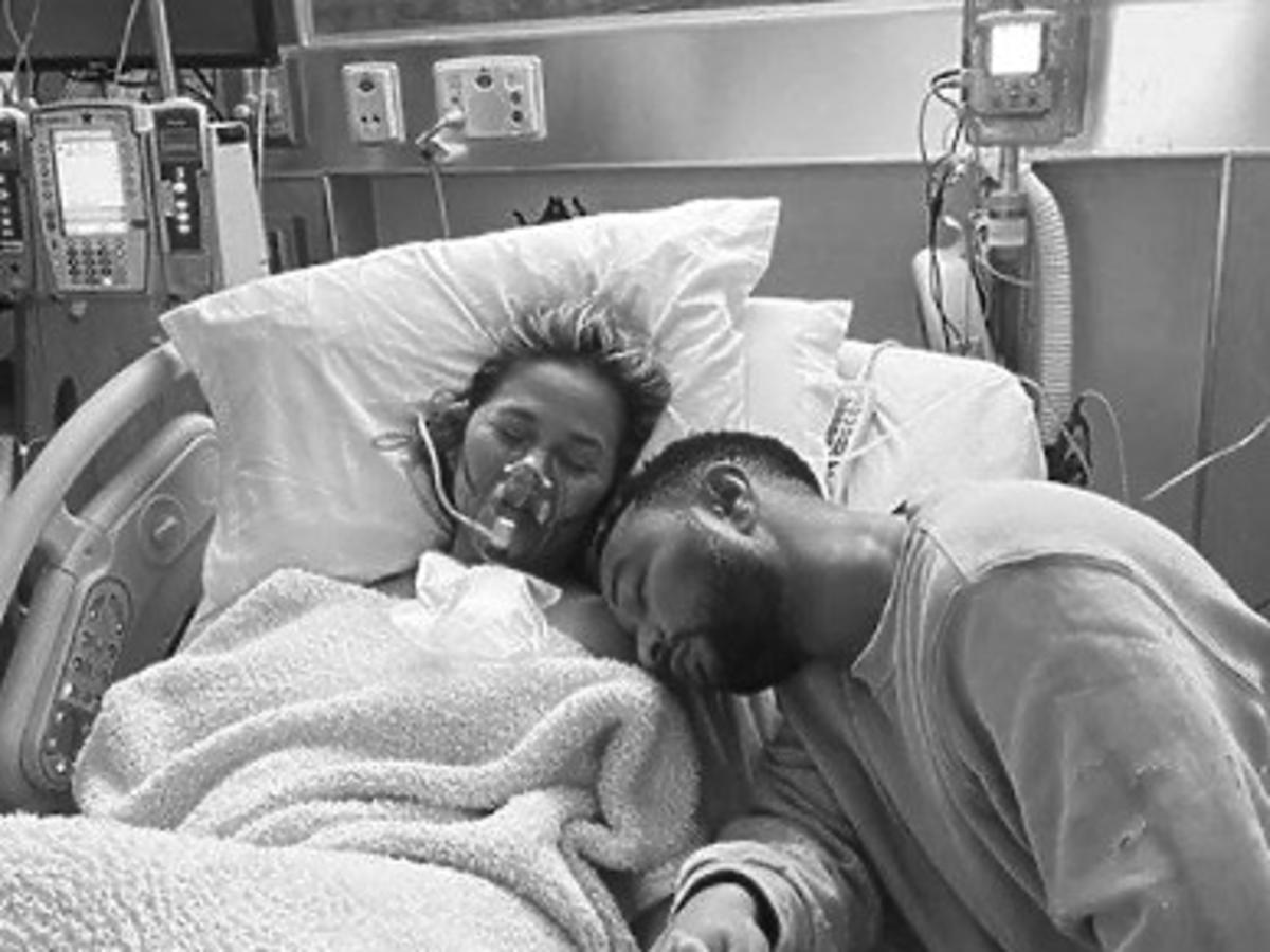 Chrissy Teigen i John Legend stracili dziecko.