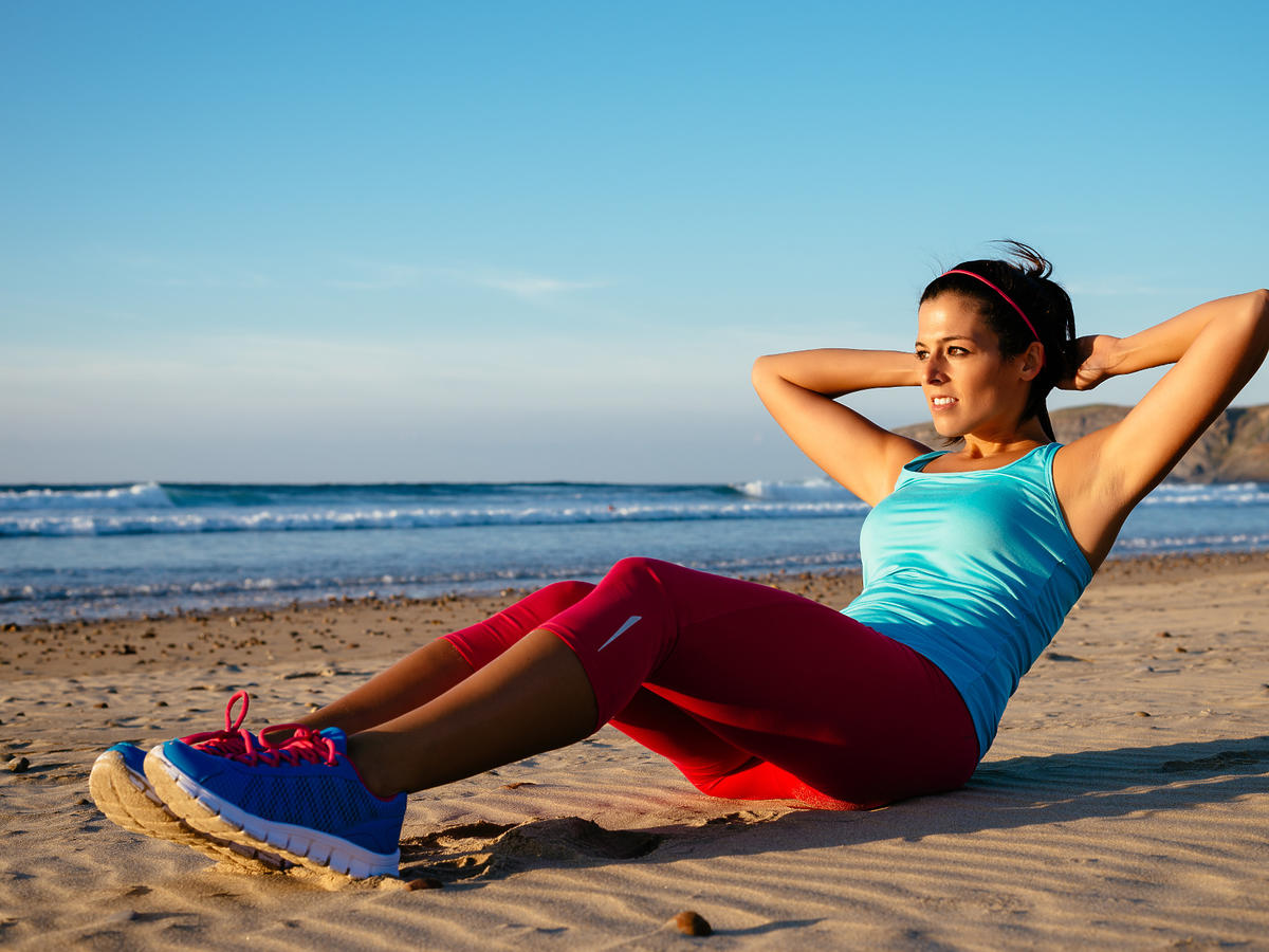 ćwiczenia podczas upałów