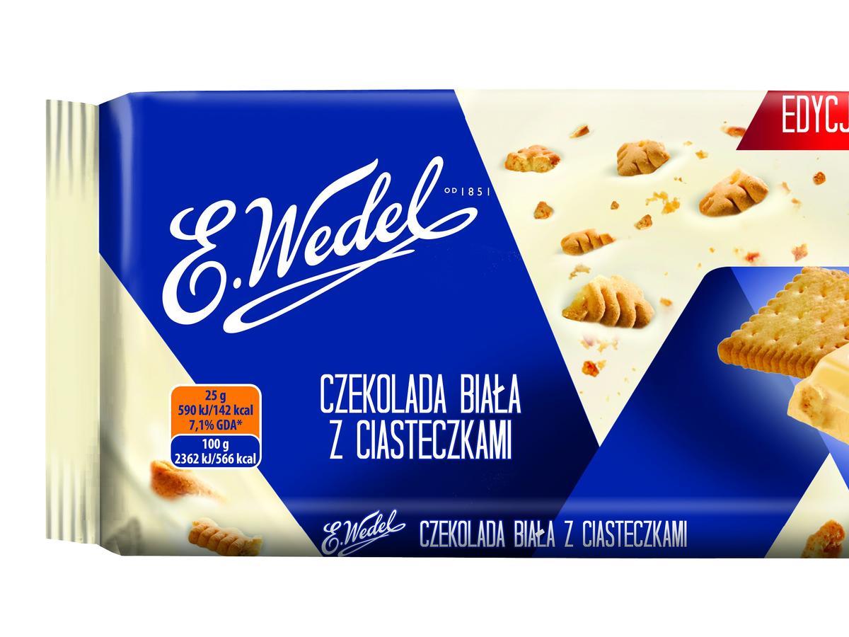czekolada biała wedel