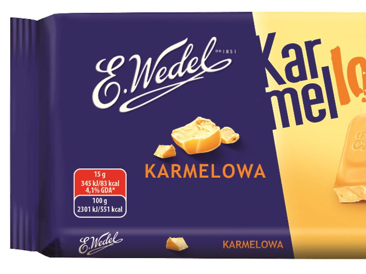 czekolada wedel karmelove