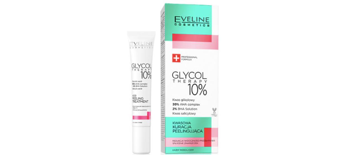 czerwony peeling Eveline Glycol Therapy
