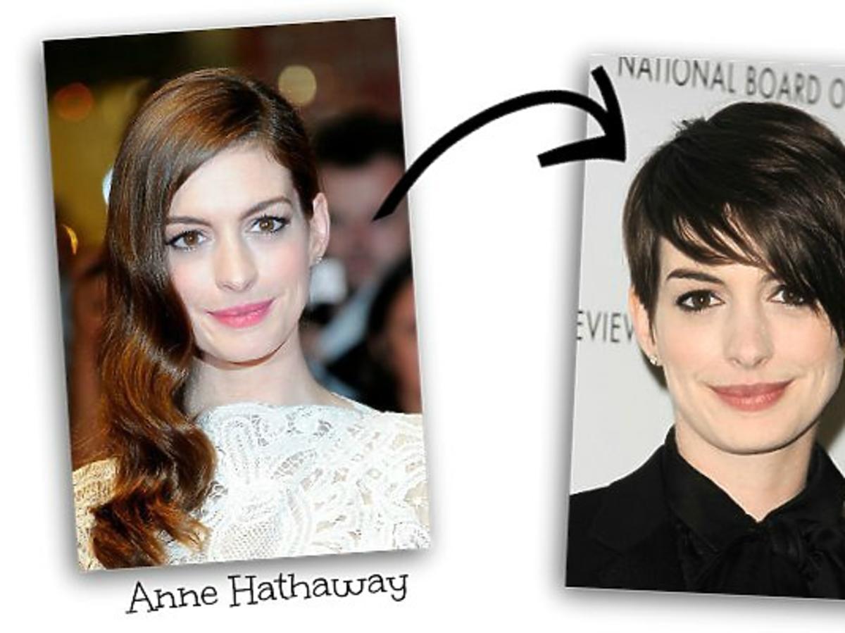 czy obciąć włosy? krótkie fryzury gwiazd