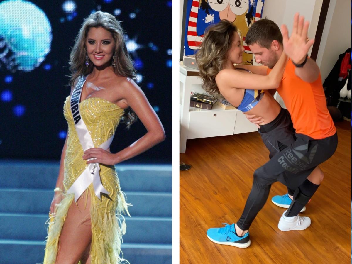 Daniella Álvarez, Miss Kolumbii bez nogi, która zachwyca tańcem
