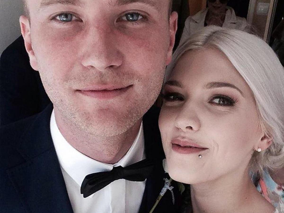 Daria i jej mąż, zdjęcie ślubne