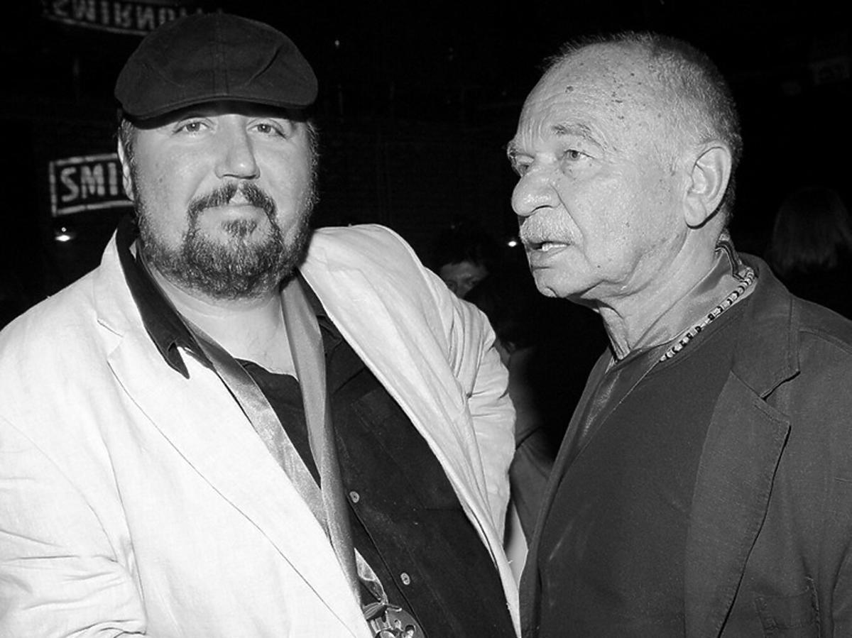 """Dariusz Gnatowski i Ryszard Kotys ze """"Świata według Kiepskich"""""""