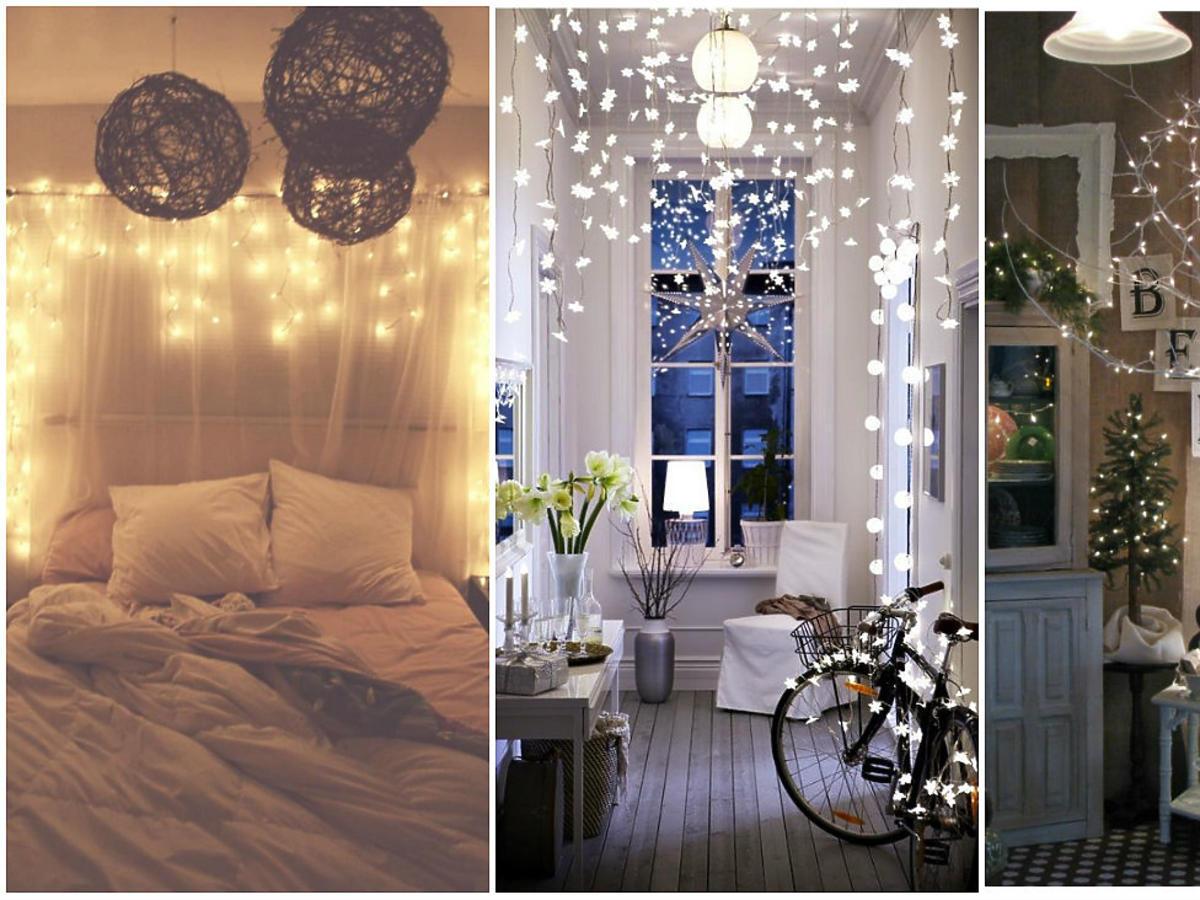 dekoracje z lampek