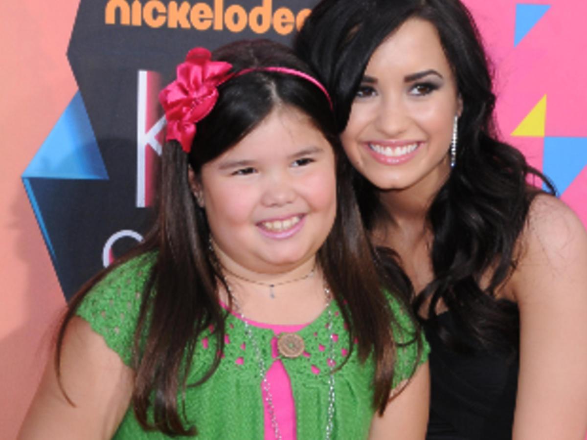 Demi Lovato z młodszą siostrą
