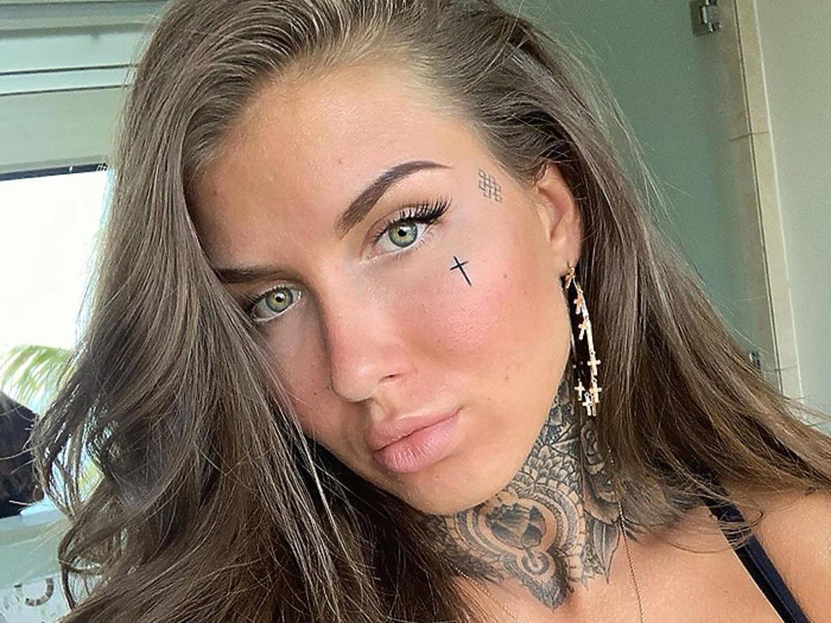 Deynn włosy łysa Deynn charakteryzacja makijaż