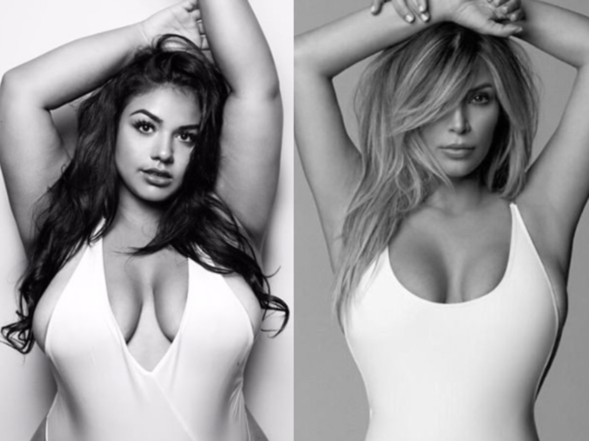 Diana Sirokai i Kim Kardashian