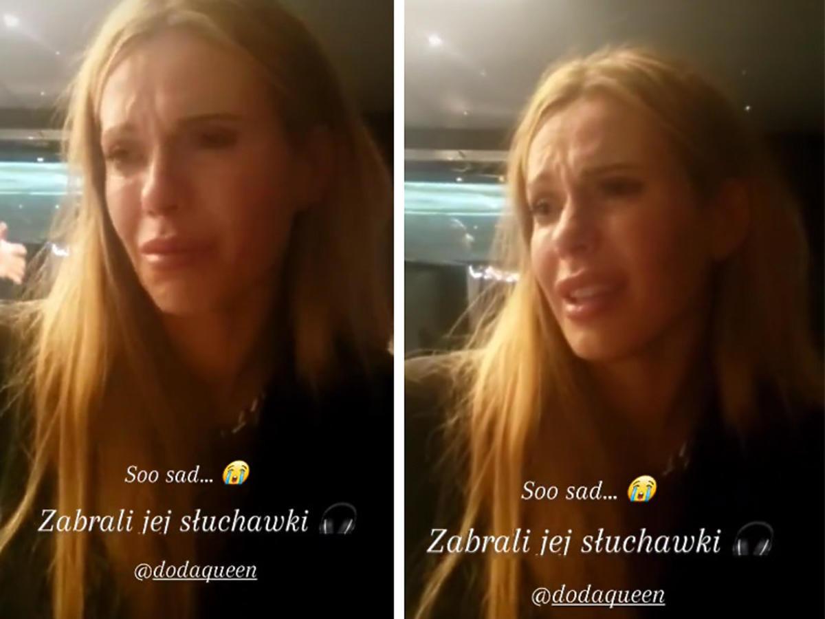 Doda pokazała emocje
