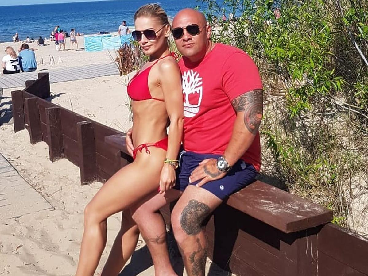 Dominik Abou-Khadra z żoną