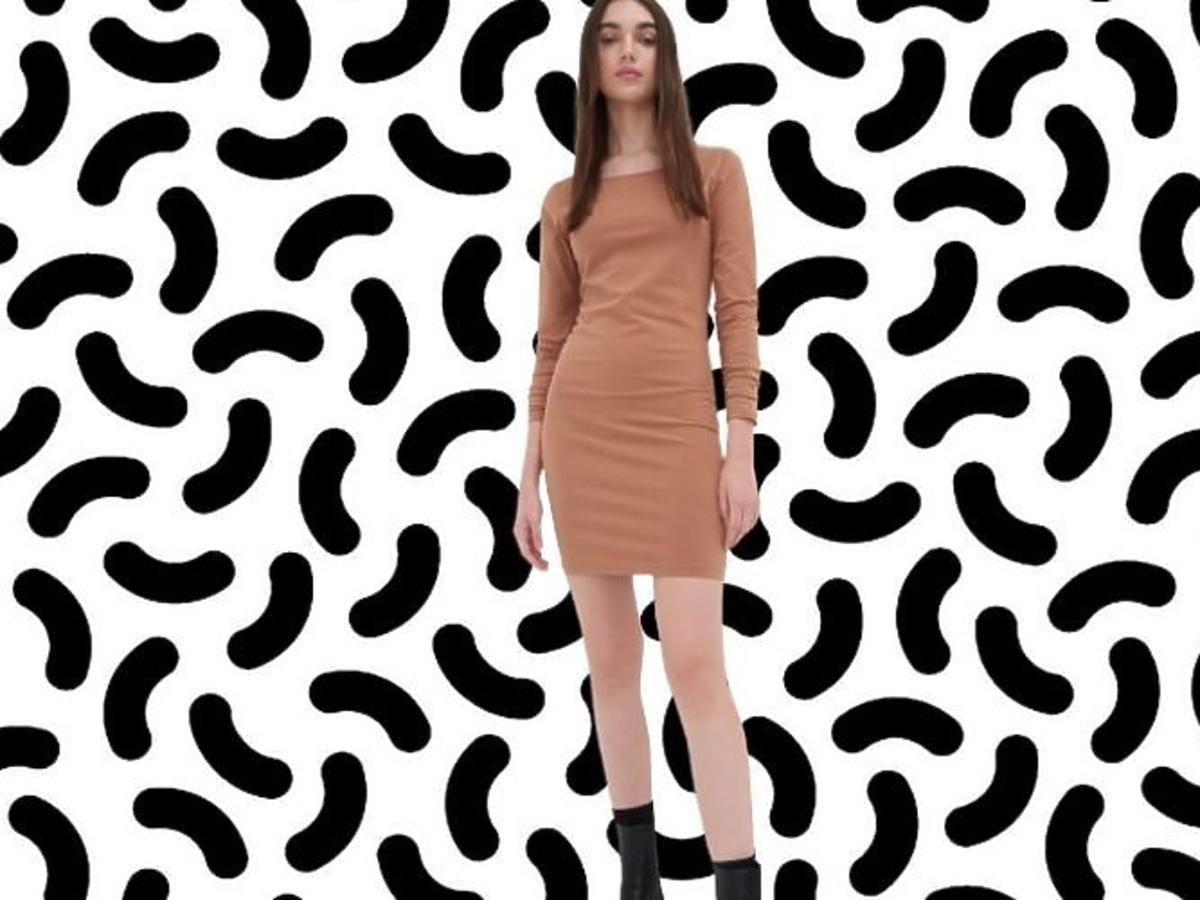 dopasowana sukienka z Sinsay