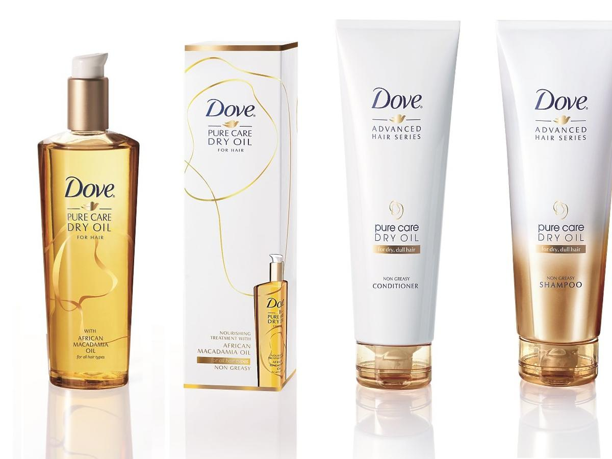 Dove Pure Care Dry Oil