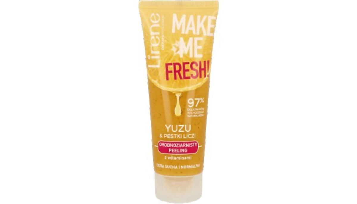 drobnoziarnisty peeling `Yuzu & olej z moringi` od Lirene Dermoprogram, Make Me Fresh