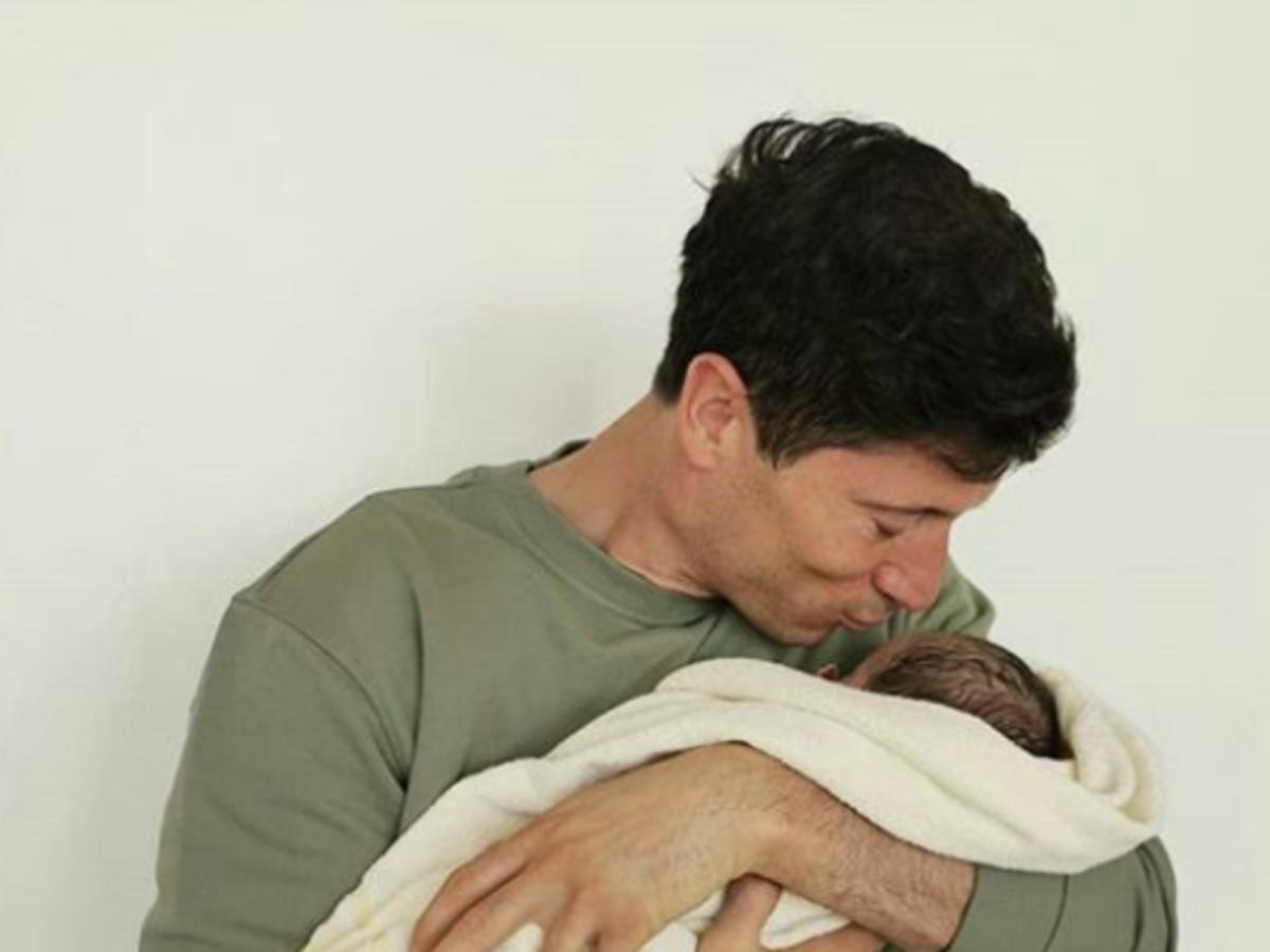 drugie dziecko leandowskich zdjęcie
