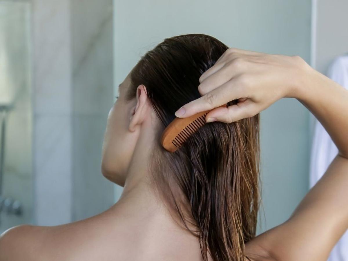 Duo-maska z bursztynem do włosów