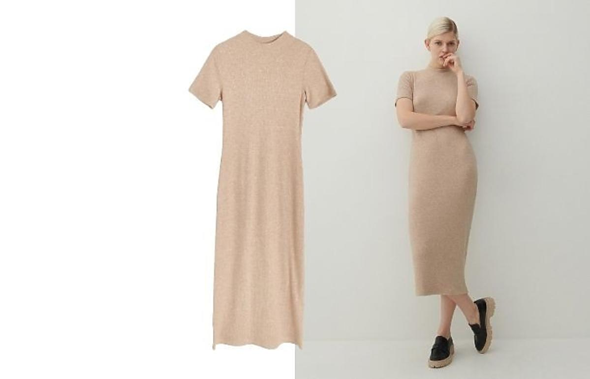 Dzianinowa sukienka Reserved