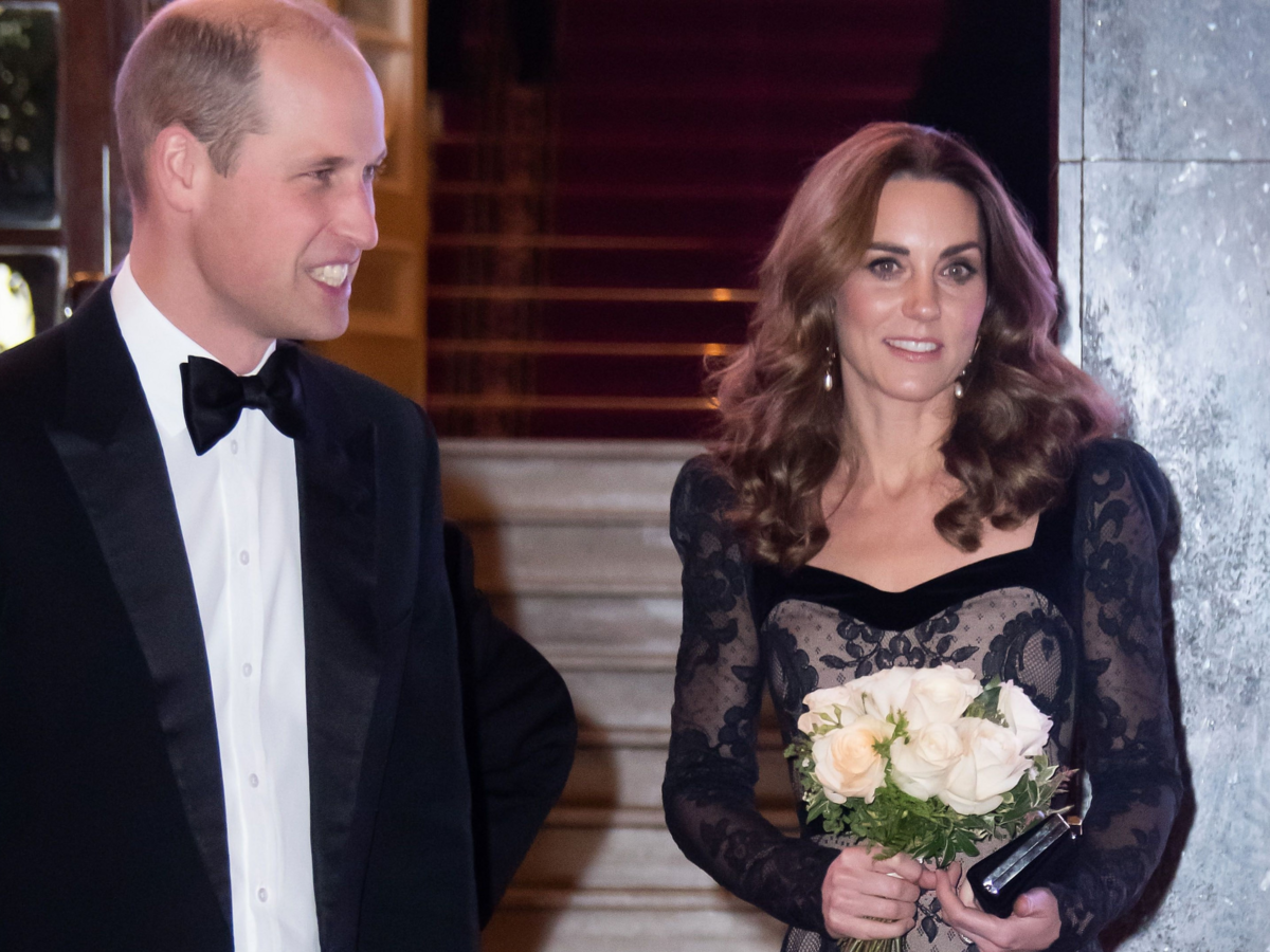 Dzieci Kate i Williama zostały wyśmiane uroczystej gali