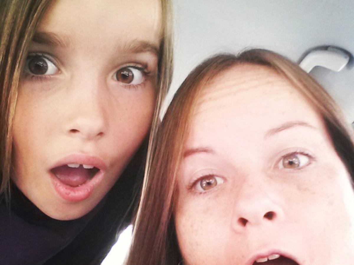 dziewczyny selfie