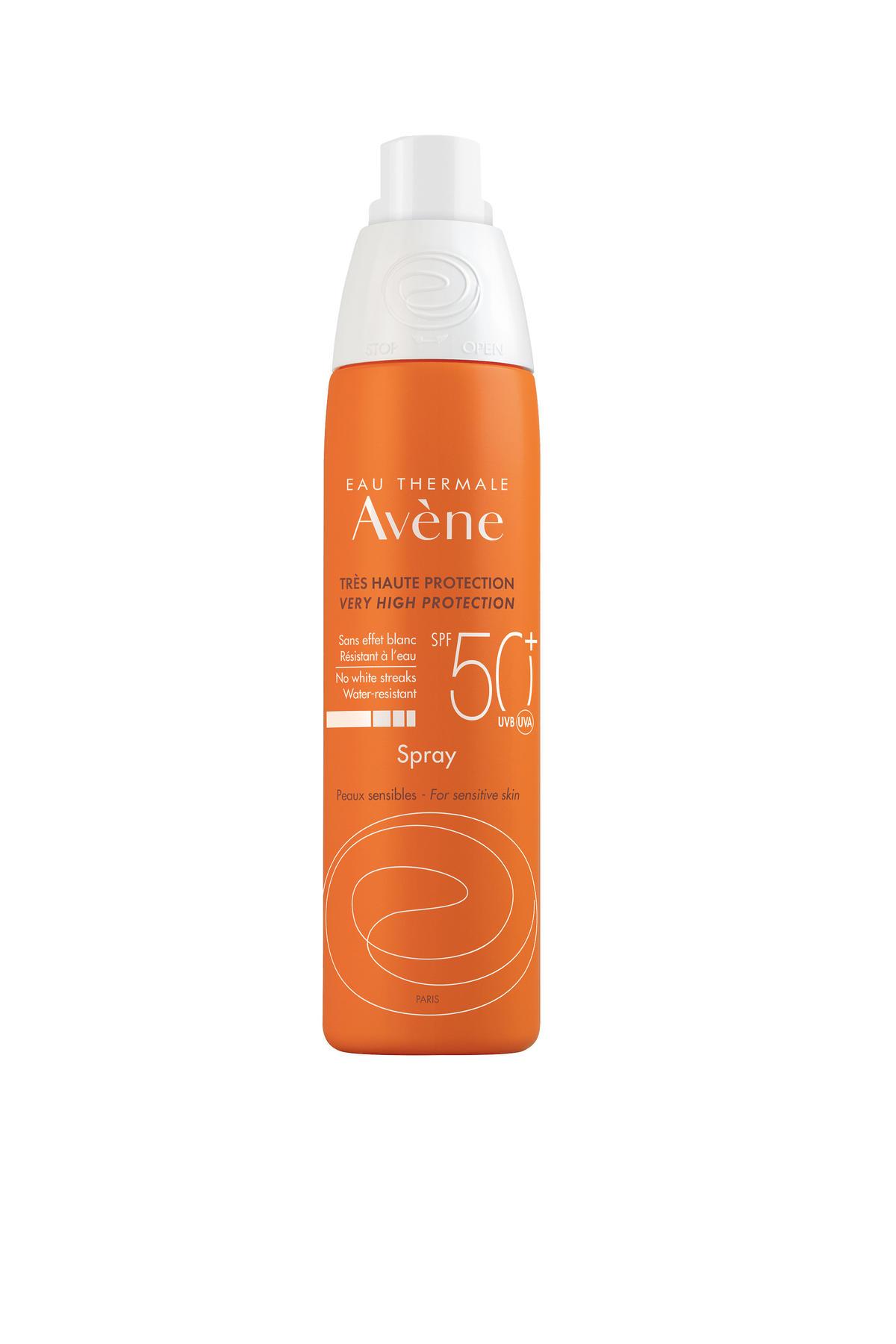 Eau Thermale Avène Bardzo wysoka ochrona przeciwsłoneczna Spray SPF 50+