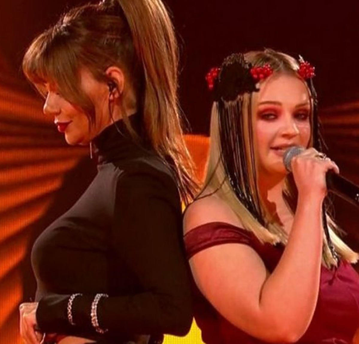 Edyta Górniak i Ania Gąsienica-Byrcyn w finale Voice of Poland