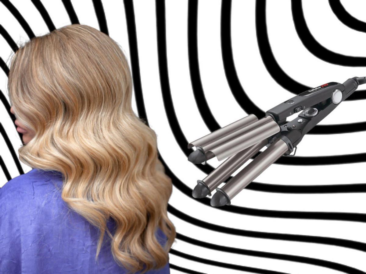 efekty - falownica do włosów
