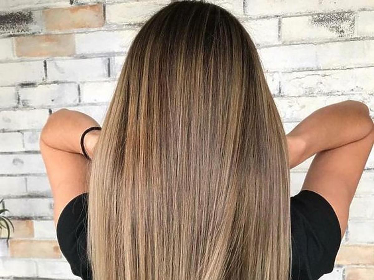 Efekty - jedwab do włosów z Rossmanna