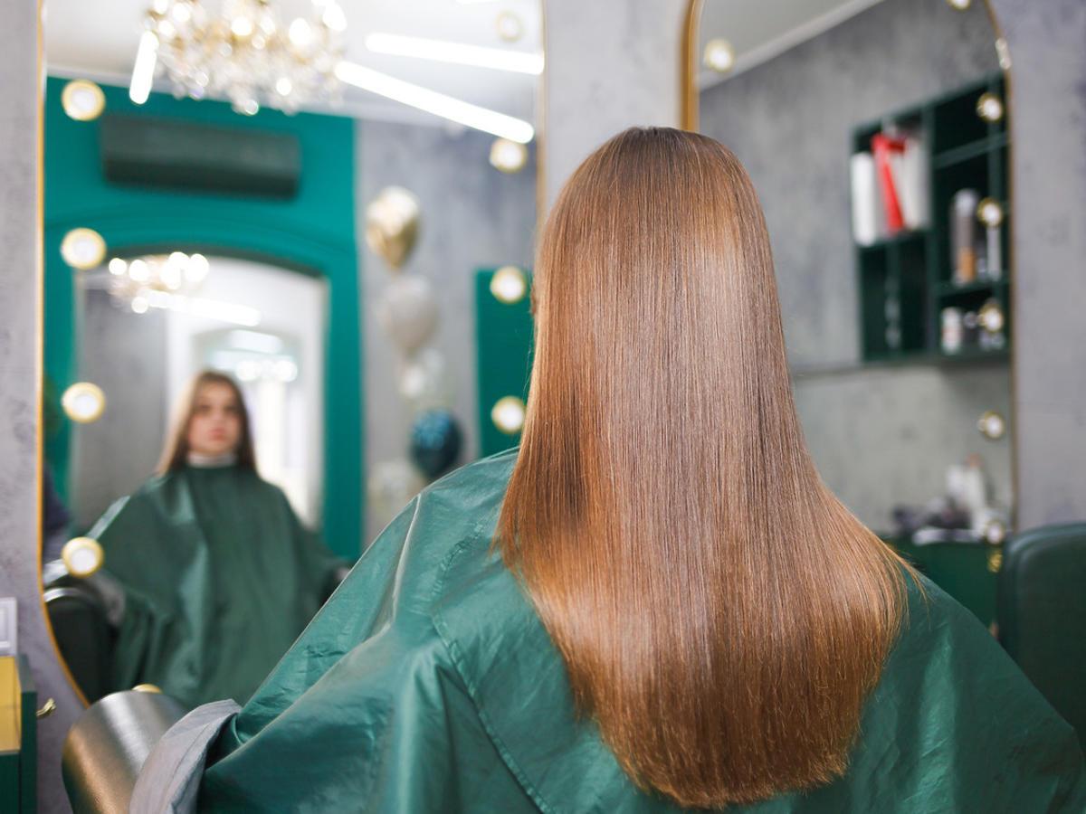 efekty laminowania włosów w domu