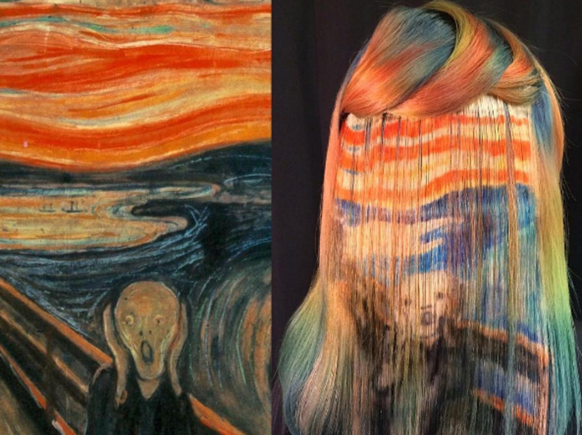 Ekstremalne farbowanie włosów