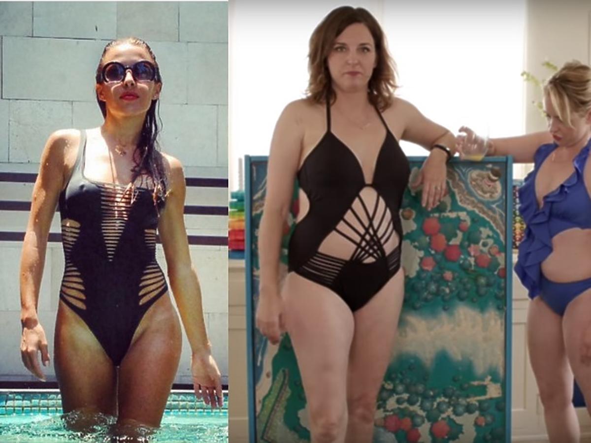 Ewa chodakowska w modnym stroju kąpielowym i blogerki w modnych strojach