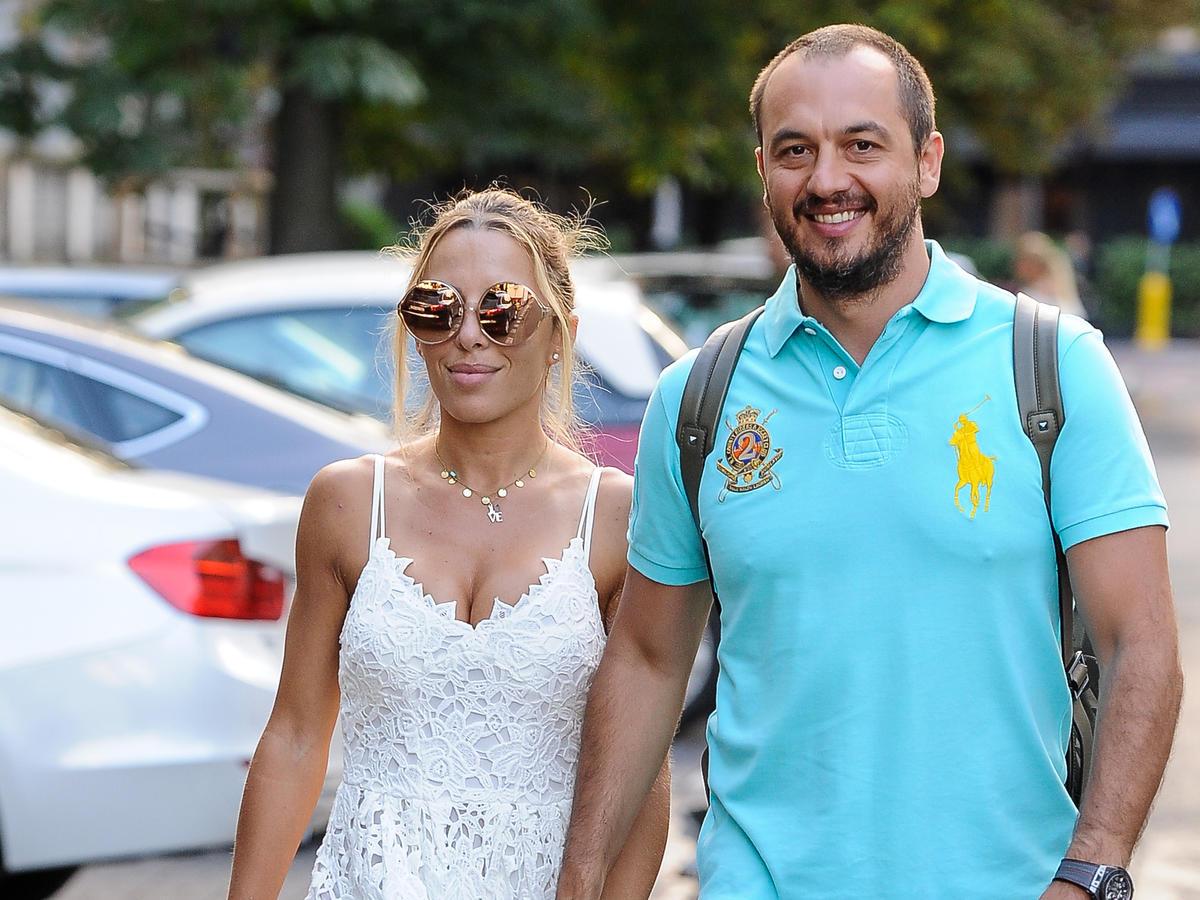 ewa chodakowska z mężem na spacerze