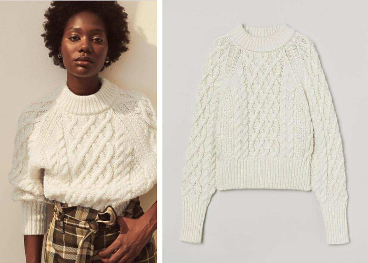 """Ewa Mrozowska z """"Gogglebox"""" w modnym swetrze z H&M"""