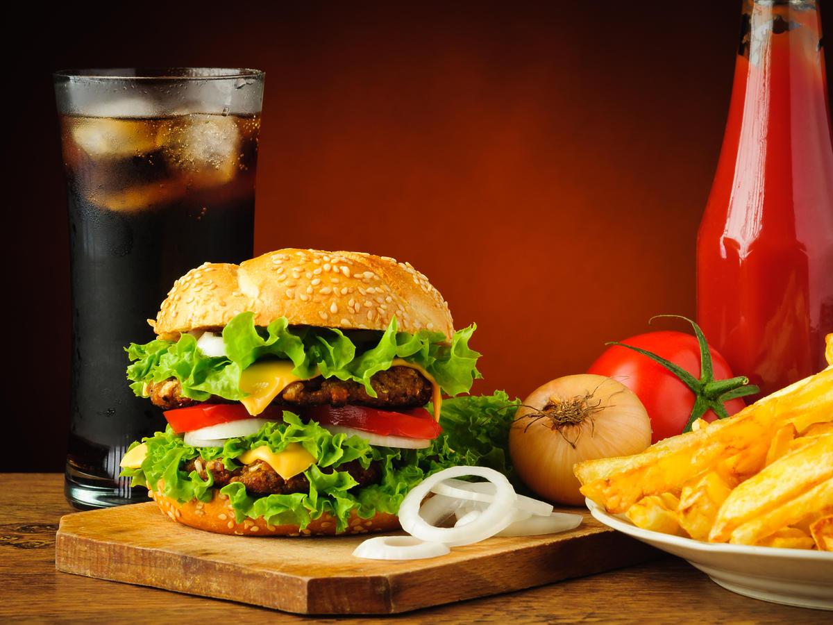 fastfood na diecie
