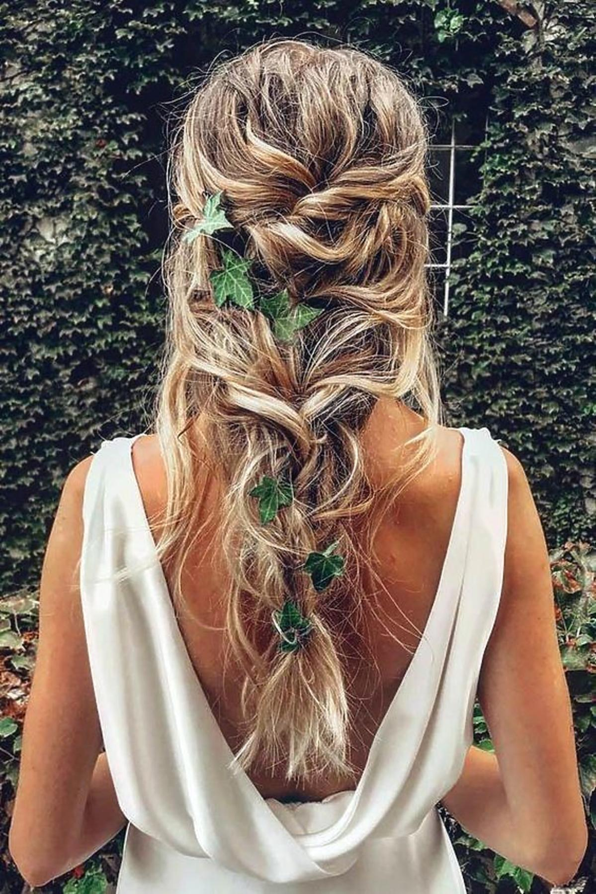 fryzury boho - upięcie
