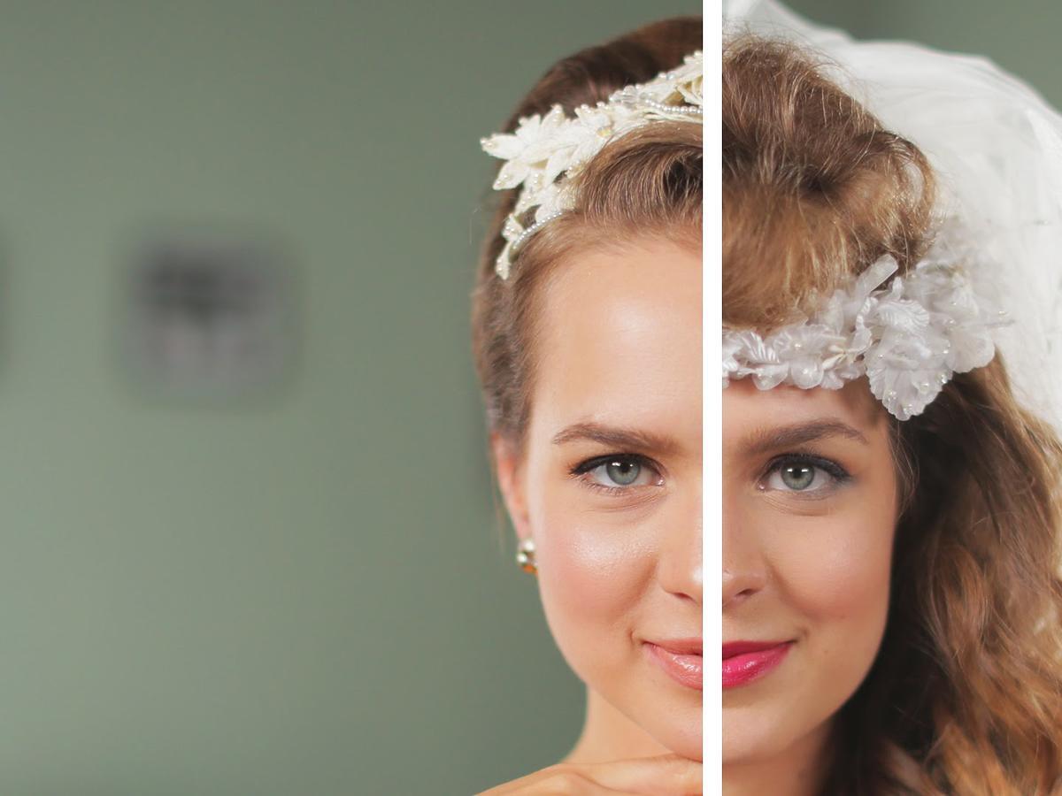Fryzury na ślub przez 50 lat