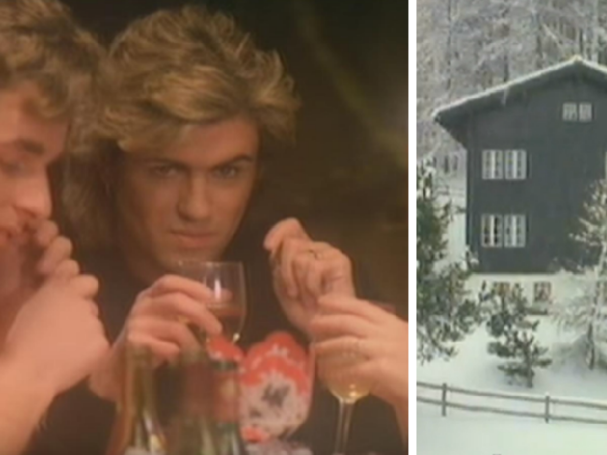 George Michael Wham teledysk do Last Christmas
