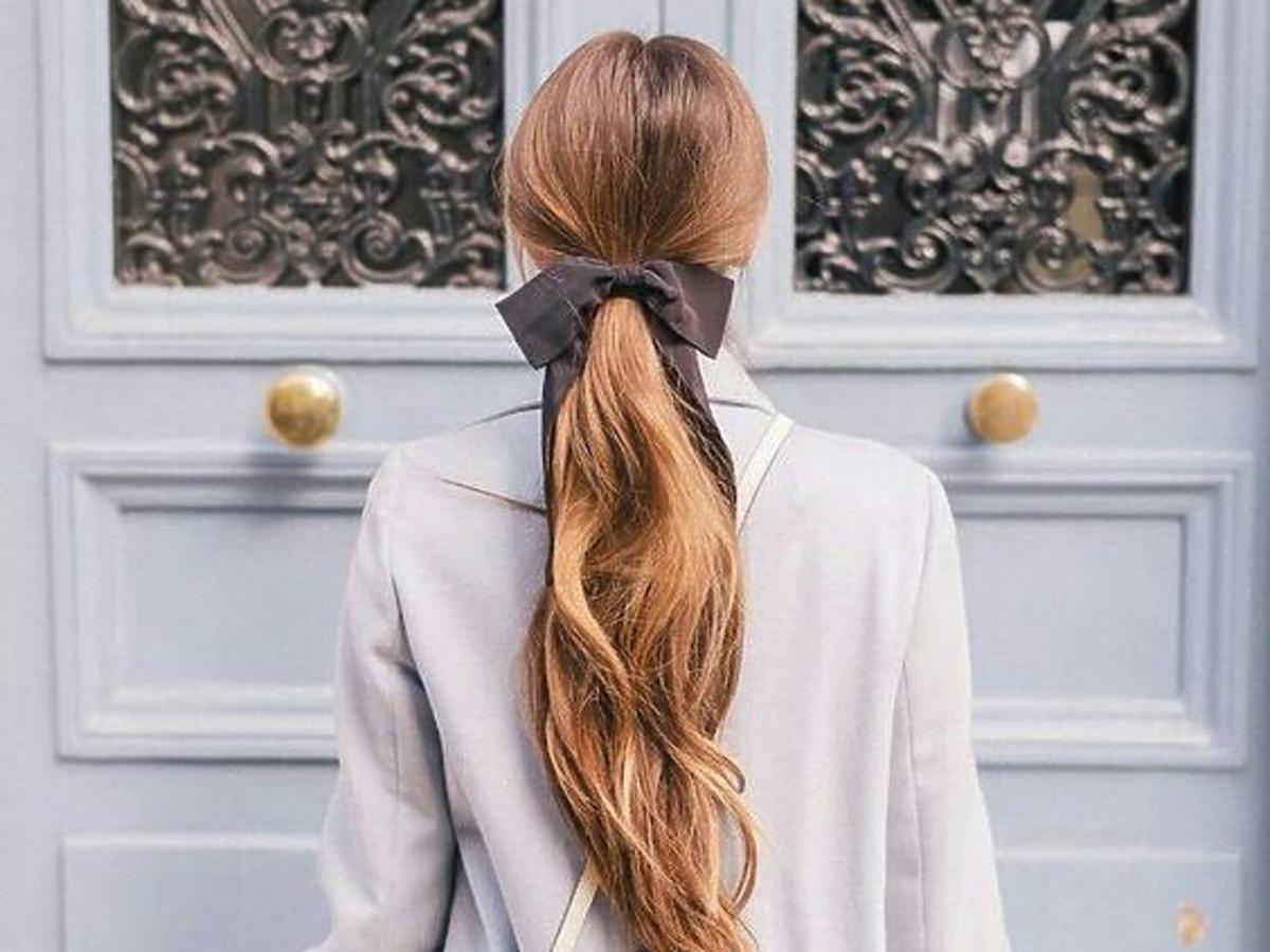 Gładkie włosy po odżywce
