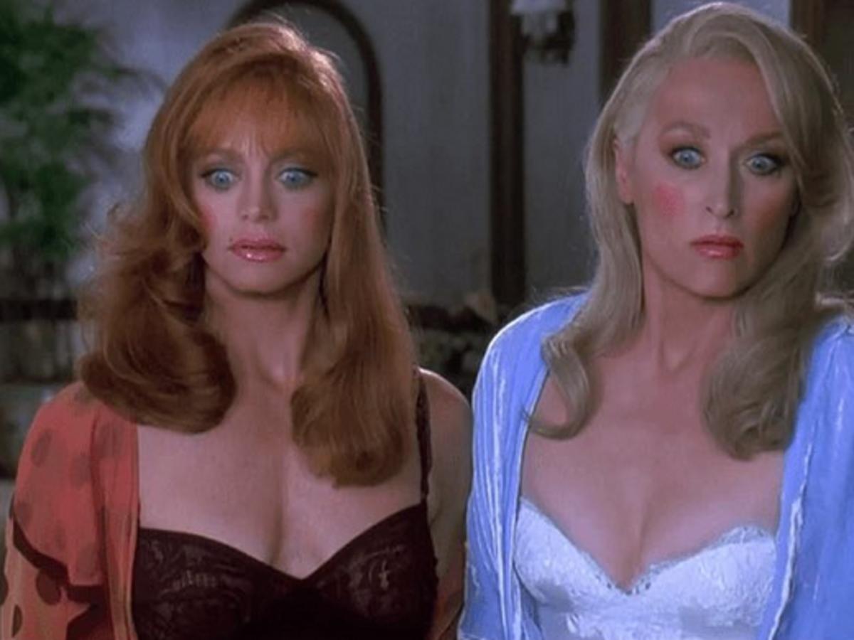 Goldie Hawn i Meryl Streep Death becomes her