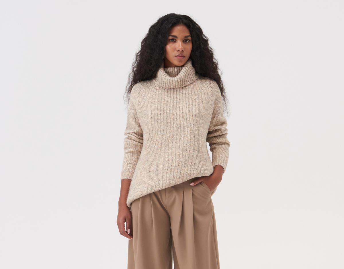 gruby sweter z sinsay