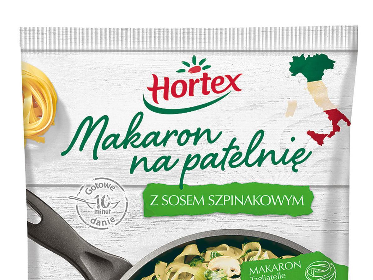 hortex makaron na patelnię