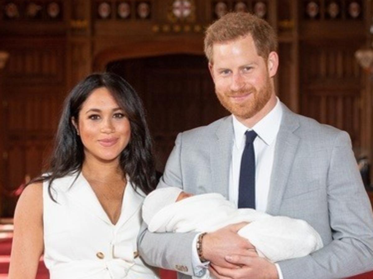 Imię synka Meghan Markle i księcia Harry'egp to nie przypadek