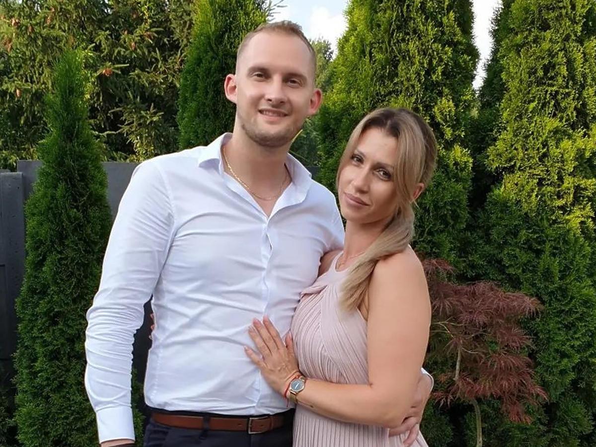 """Iza i Kamil Kamil ze""""Ślubu od pierwszego wejrzenia"""" na weselu"""