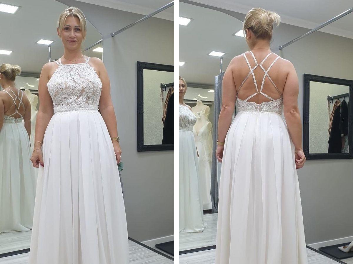 Iza ze ślubu od pierwszego wejrzenia w ślubnej sukni