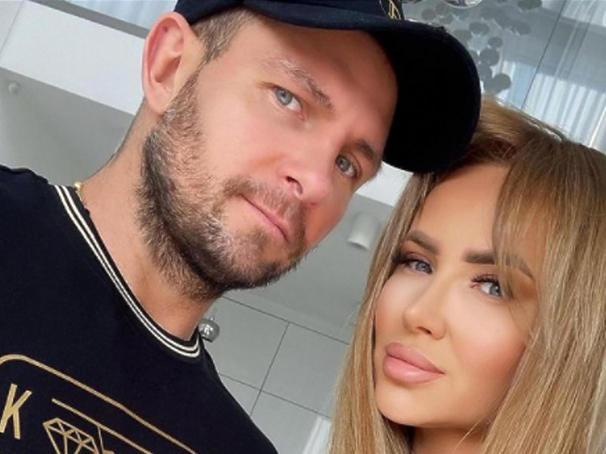 Izabela i jej mąż Patryk Borowiak