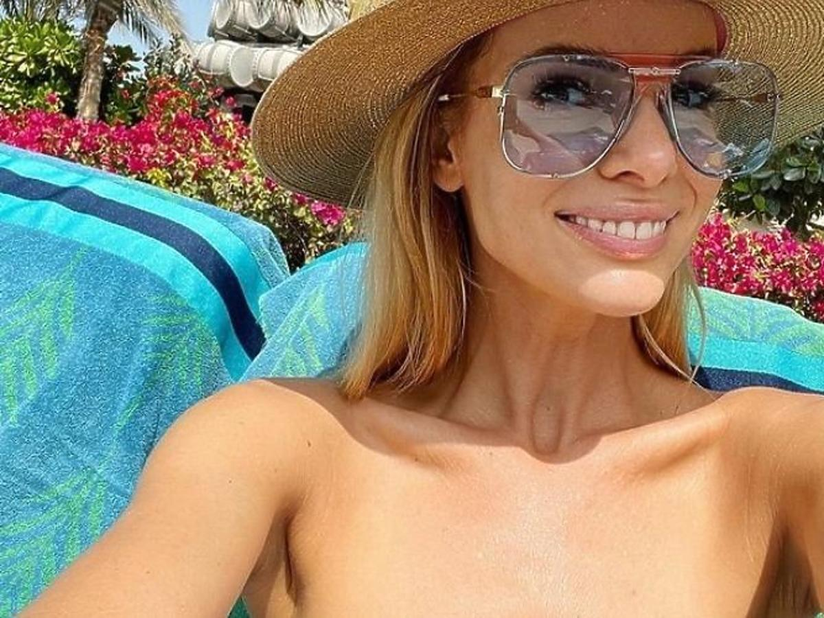 Izabela Janachowska na wakacjach