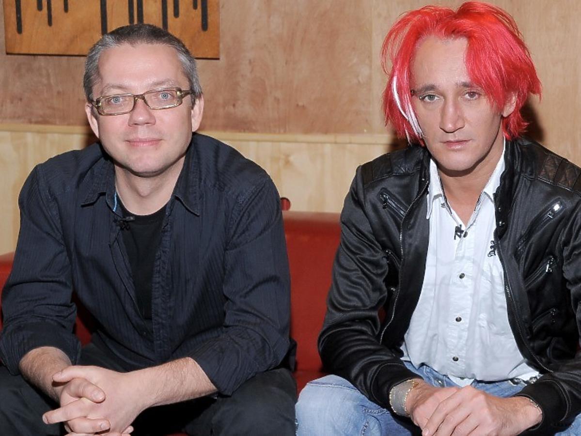 Jacek Łągwa i Michał Wiśniewski