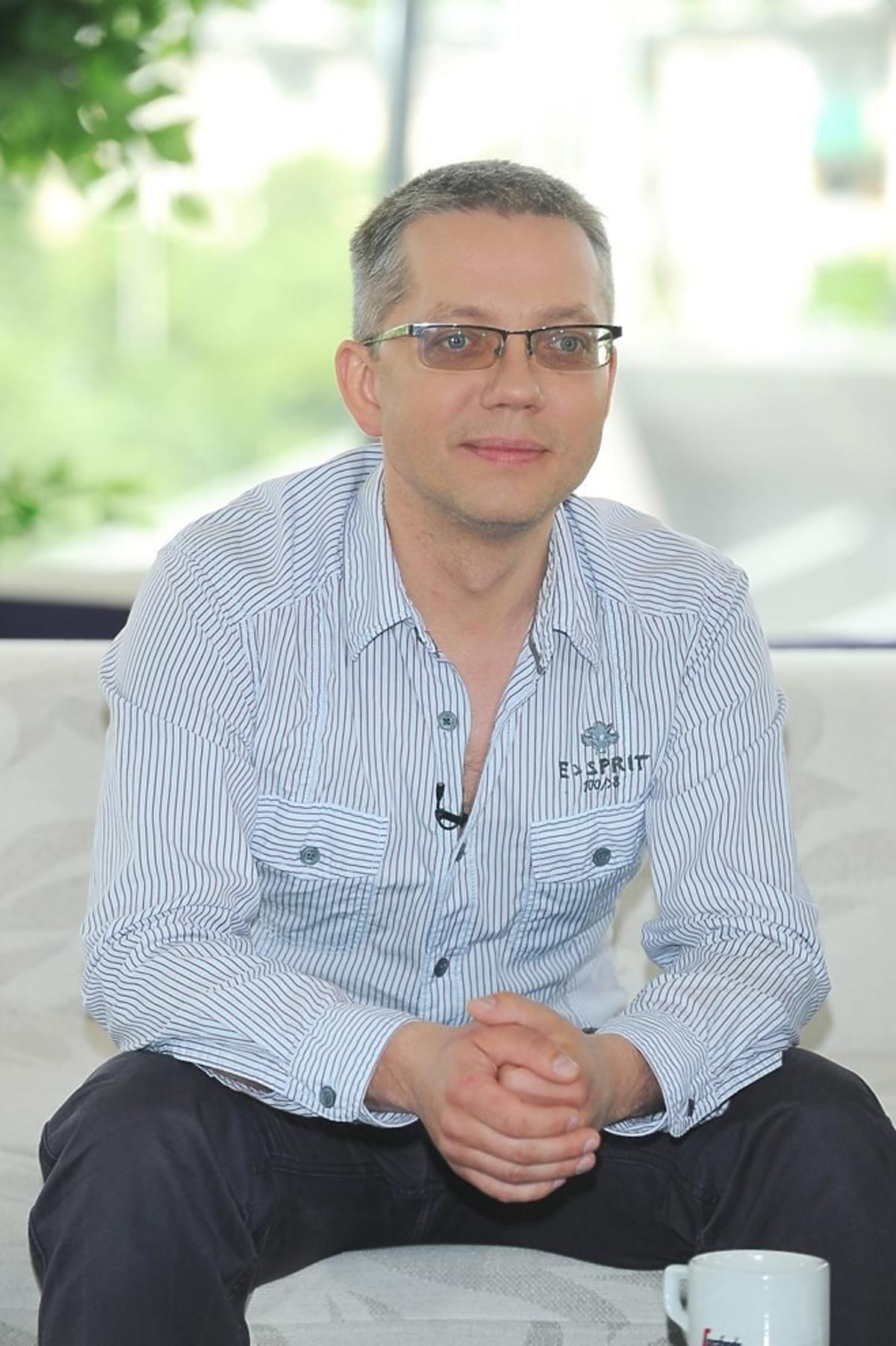 Jacek Łągwa w 2009 roku