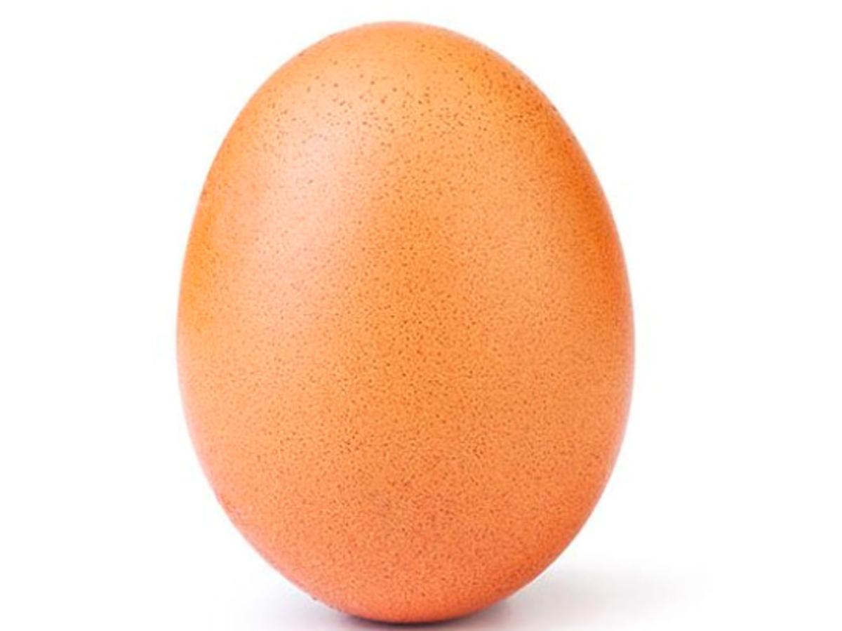 jajko- najpopularniejsze zdjęcie na Instagramie